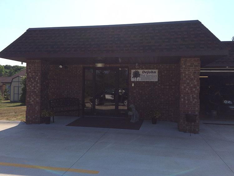 DeJohn Pet Services Entrance
