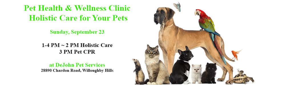 Pet Health & Wellness Clinic 2018